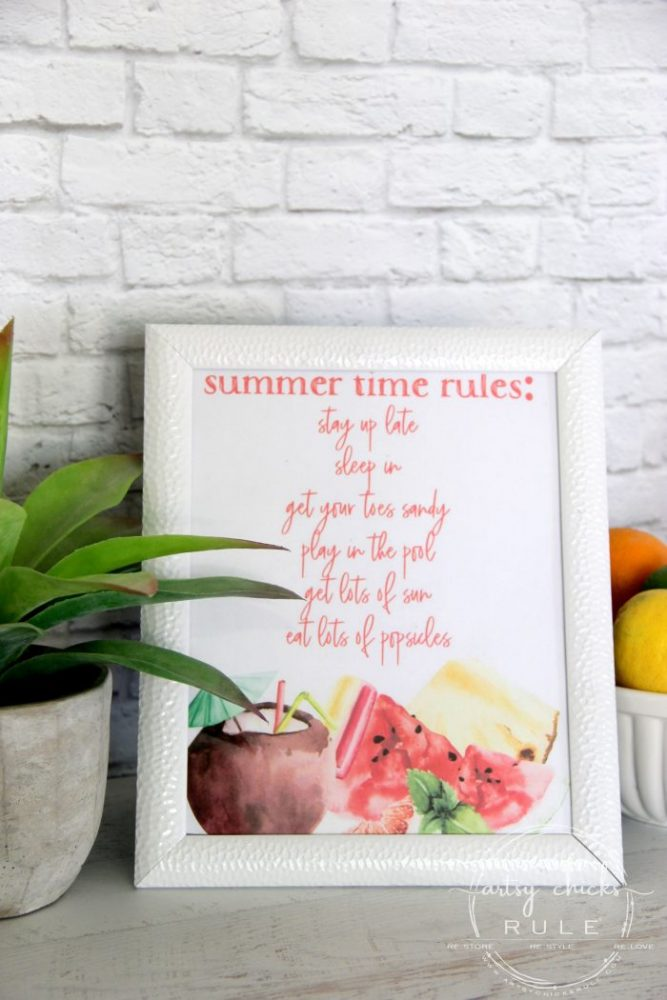 3 FREE Fun Summer Printables You Can Use On SO Many Things! PLUS 2 Blanks You Can Customize! artsychicksrule.com #summerprintables #freeprintables #summergraphics #summersayings #summerquotes #summertime #summercrafts #summertimecrafts #summersign #summerpictures