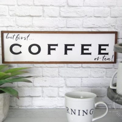 But First Coffee Sign (and free printable!)