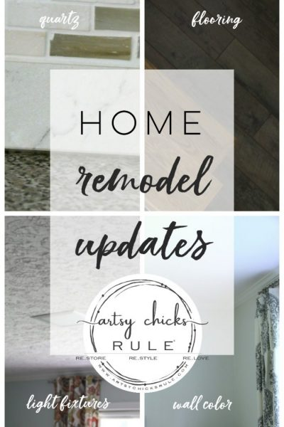 Home Remodel Updates (all the fun stuff!)