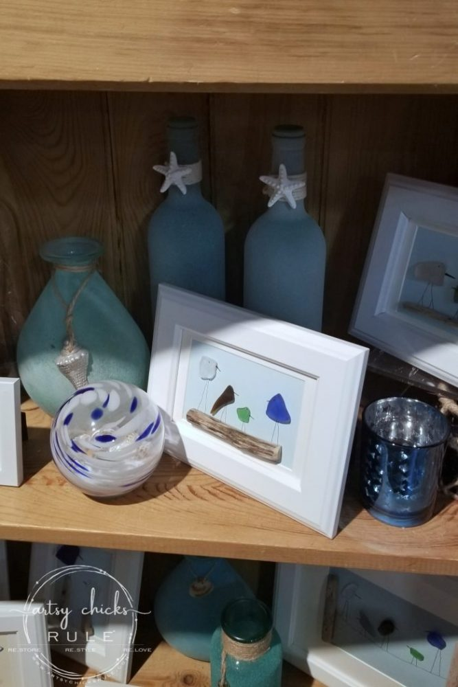 Outer Banks Places To Eat (and shop!) seaglass birds - artsychicksrule.com #outerbanks #outerbankseats #outerbanksshopping #beachdecor #coastalstyle #traveldestinations #travelideas #obx #beachtrips #coastaldestinations