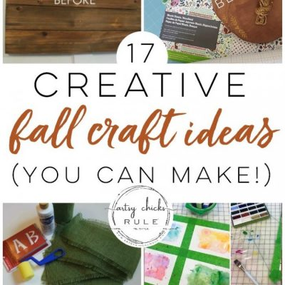 17 Creative Fall Craft Ideas (you can make!)