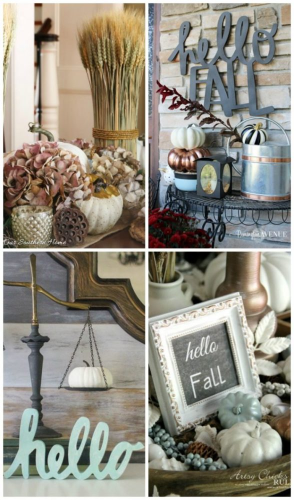 16 SIMPLE Fall Decor Ideas....You CAN Do! Get your home ready for fall with these inspiring fall styling and decor ideas! artsychicksrule.com #falldecor #fallstyling #fallhome #fallcraftideas #falldecorideas #decoratingforfall #falldecorating #fallinspiration