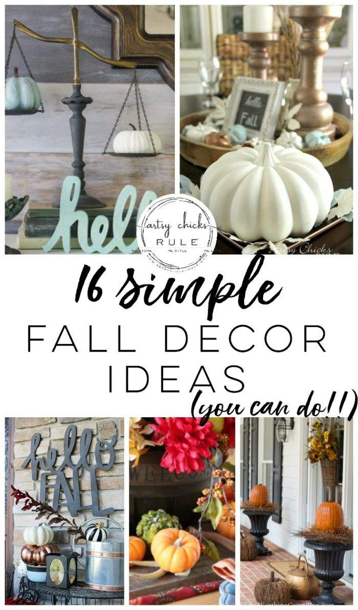 Simple Fall Decor Ideas Inspiration For Your Home