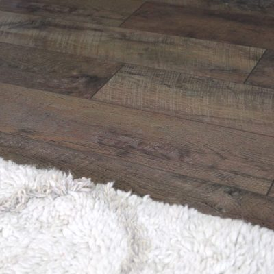 Affordable Rustic Laminate Flooring (the big reveal!)