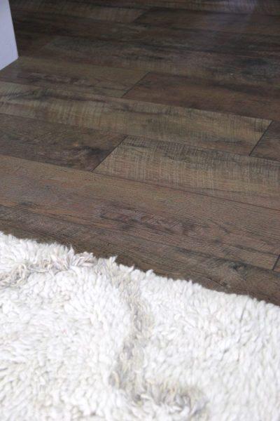 Affordable Rustic Laminate Flooring (the big reveal!)
