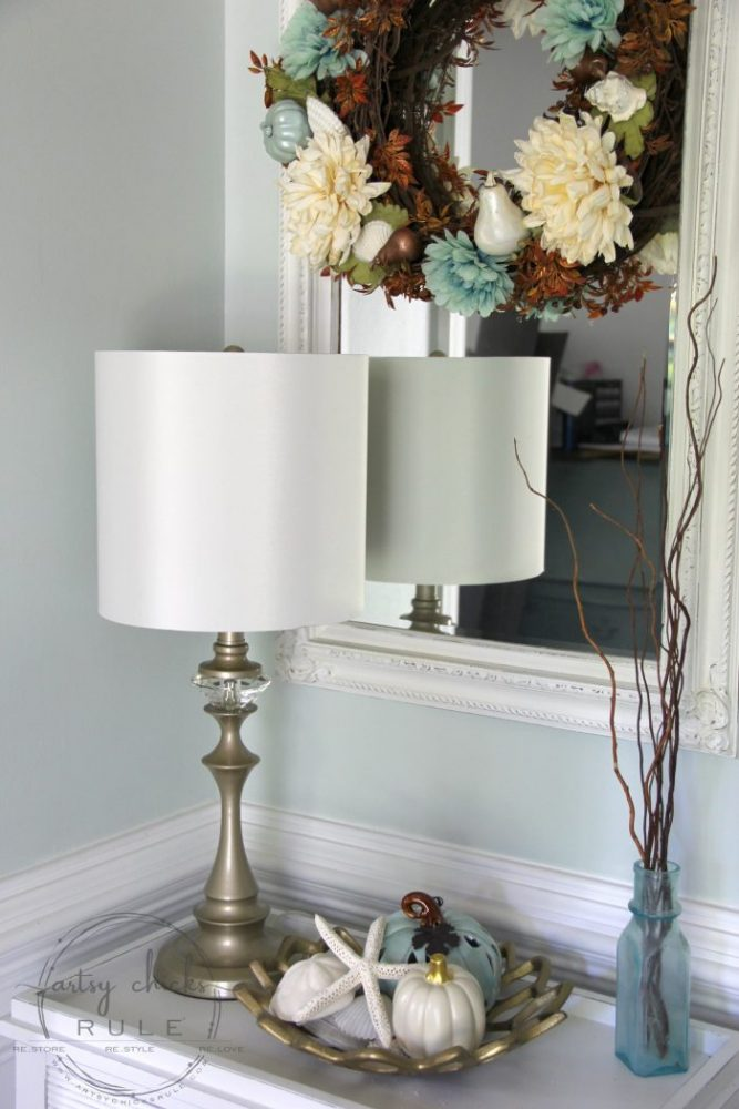 """BEST GOLD PAINT!! Want a """"not in your face"""" gold? This is the one! Soft, gorgeous, elegant gold paint. artsychicksrule.com #bestgoldpaint #softgold #favoritegoldpaint #goldfurniture #golddecor #coastalglam #glamgold #goldpaint #goldprojects"""