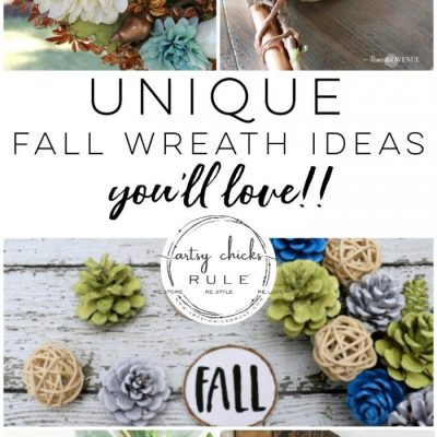 14 Unique Fall Wreath Ideas (you'll love!!)