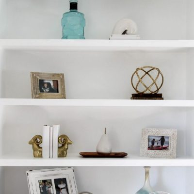 How To Style Shelves (simple decorating tips & ideas)