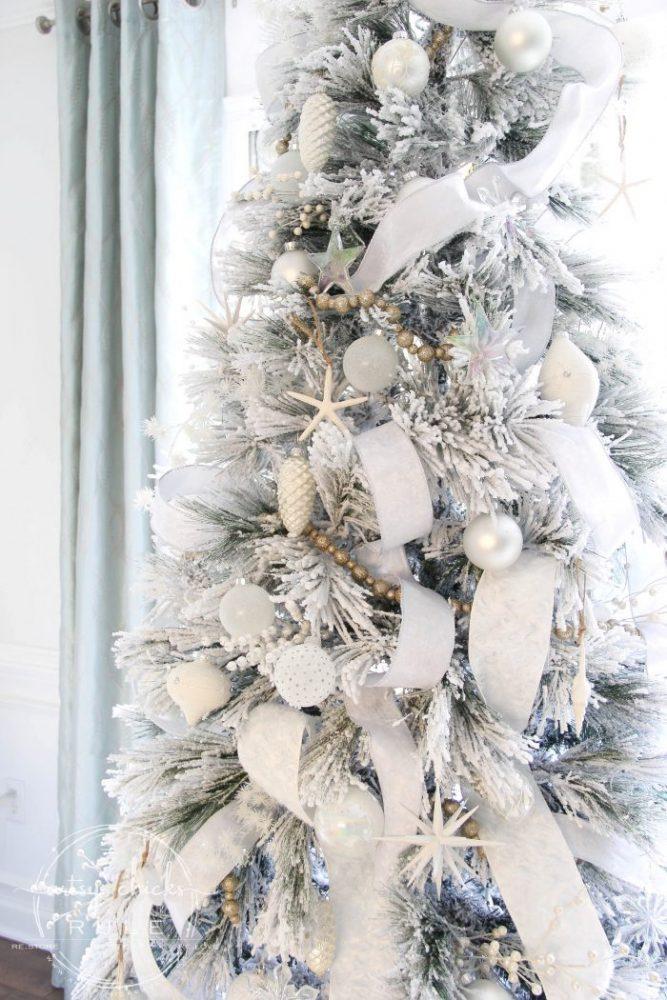 all white christmas tree morning room decor artsy chicks rule all white christmas tree morning room