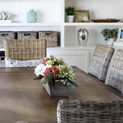 Coastal Dining Room Reveal