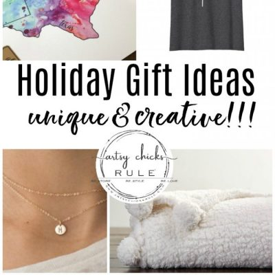 Holiday Gift Ideas (unique & creative!)