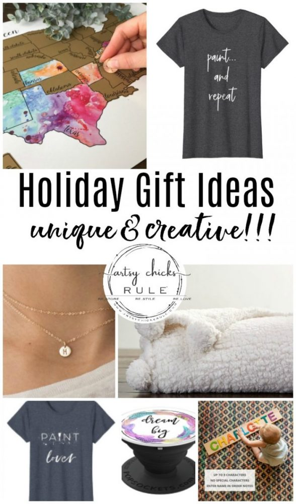 Holiday Gift Ideas that are UNIQUE and CREATIVE!!
