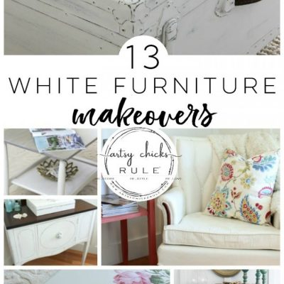 13 White Painted Furniture Makeovers