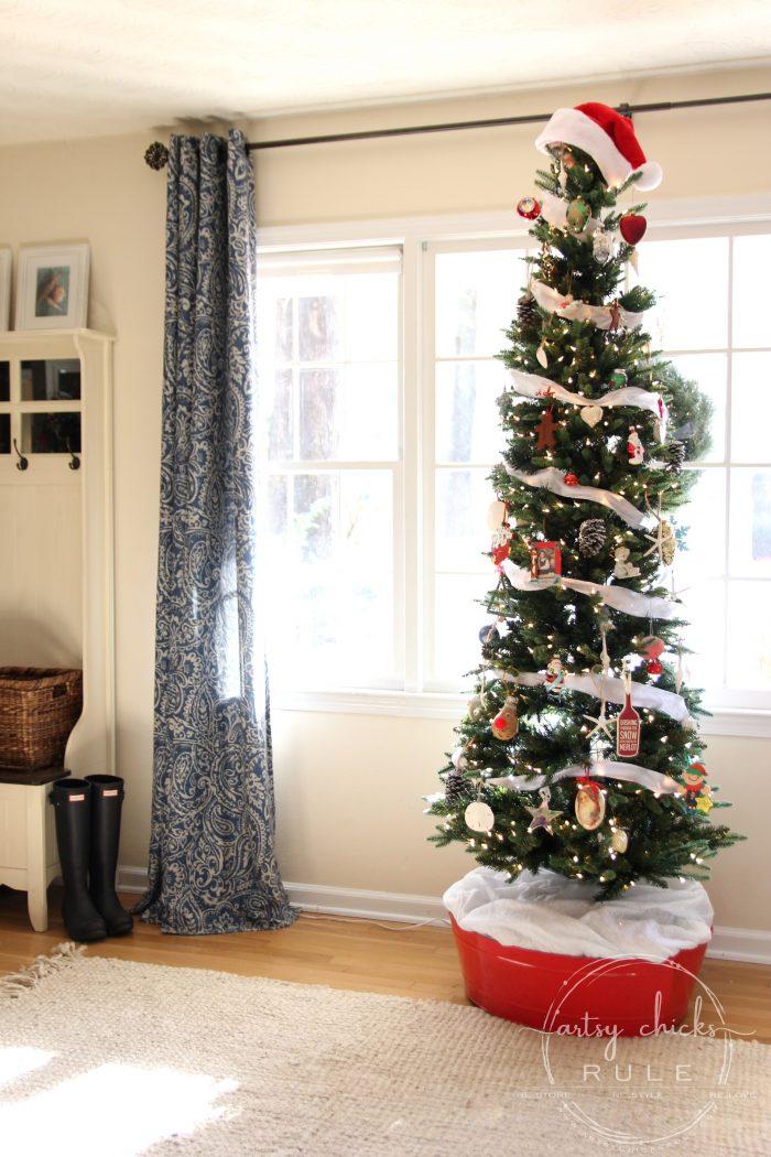 Christmas Through The Years artsychicksrule.com #christmasdecor #holidaydecor #holidayideas