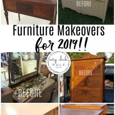 Welcome 2019 - Furniture Makeovers To Come