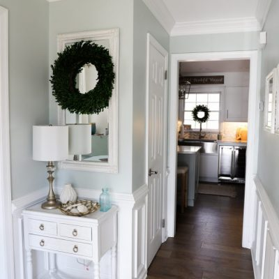 DIY Crown Molding (easy way to do wide, custom look molding!)