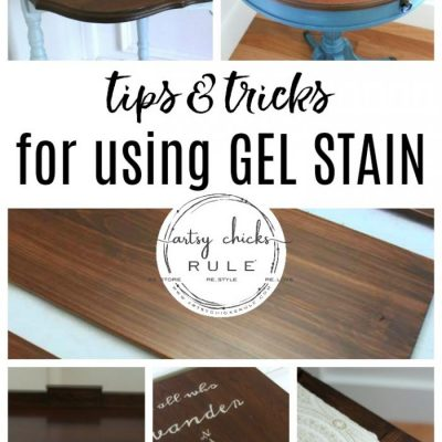 How To Use Gel Stain (and many project examples!)