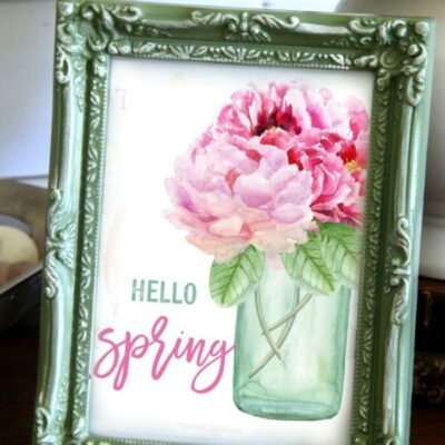 Floral Printables For Spring (free download!)