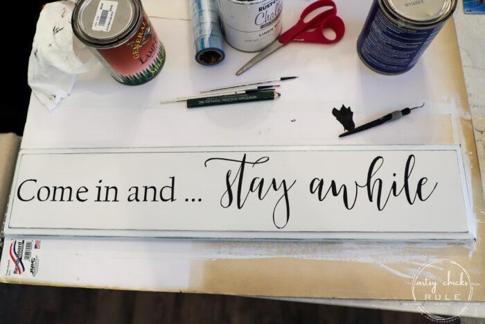 Fixing the lettering artsychicksrule.com