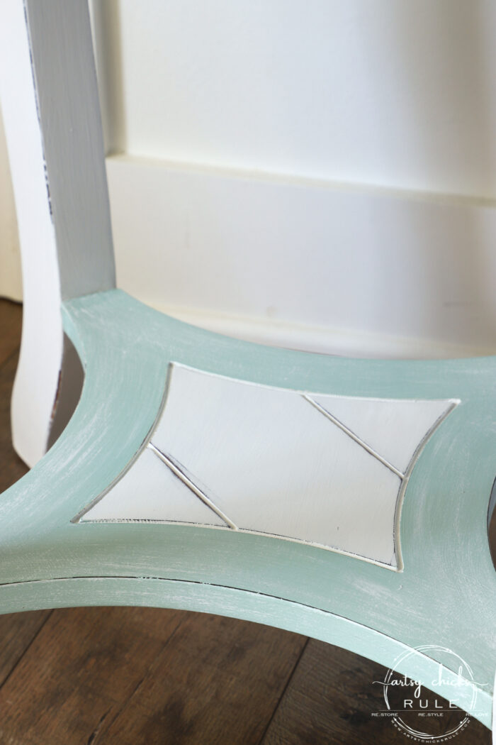 Nautical end table dry brushed artsychicksrule.com