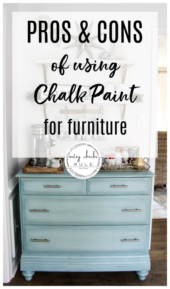 Pros And Cons Of Chalk Paint For