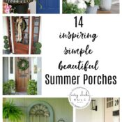 Beautiful Summer Porches (inspiration and ideas)