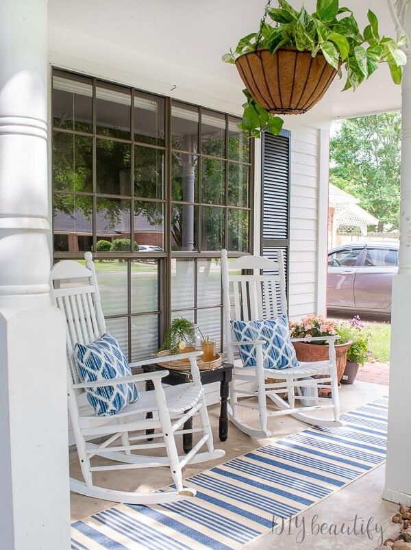 Beautiful Summer Porches artsychicksrule.com #summerporches #summerporchideas #summerporchdecor #porchdecor #porchdecorating