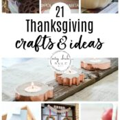 21 Thanksgiving Crafts and Ideas
