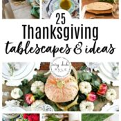 25 Thanksgiving Table Settings (decor and ideas)