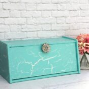 Dixie Belle Crackle Painted Bread Box
