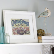 Picture Frame Makeover (and some fun news!!)