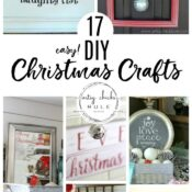 17 Easy DIY Christmas Crafts (anyone can do!)