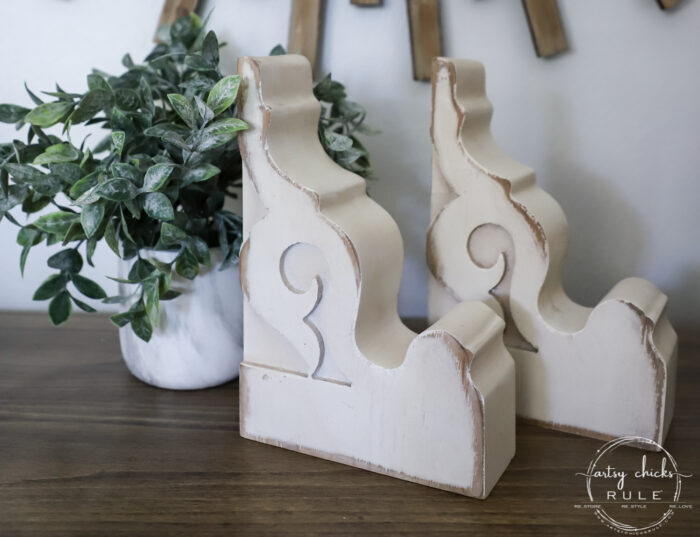 Decor Steals Corbels Giveaway (plus $75 Target Gift Card!) artsychicksrule.com