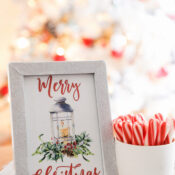 Merry Christmas Printable (free download!)