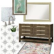 Hall Bathroom Mood Board & Plans