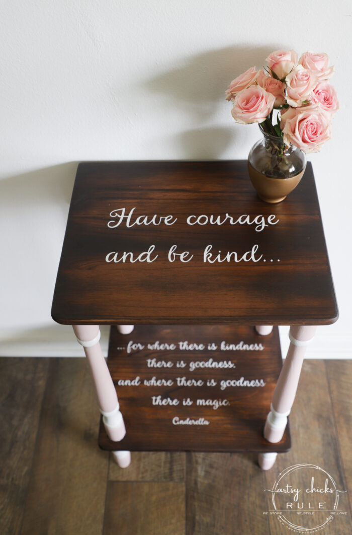 It's just a photo of Have Courage and Be Kind Printable pertaining to gray