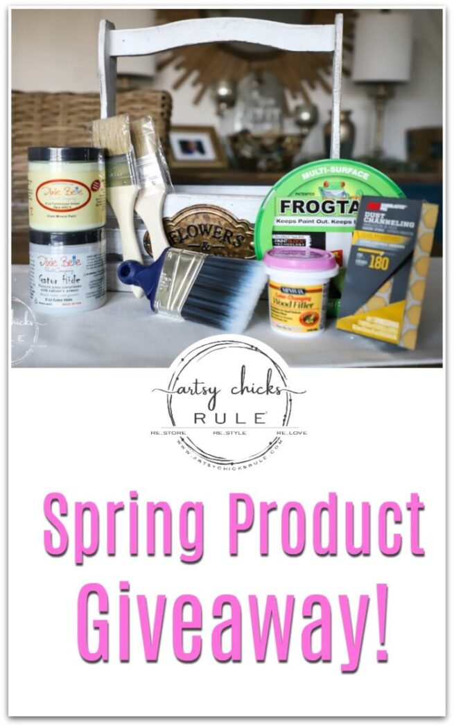 Spring Product Giveaway artsychicksrule.com #springgiveaway #springprojects