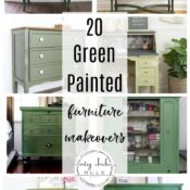 20 Green Painted Furniture Ideas