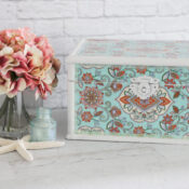 Decoupage with Tissue Paper Makeover
