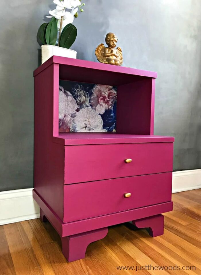 Pink furniture makeover ideas, from the brightest Fuschia to the palest pink for every style of decor! artsychicksrule.com #pinkfurnitureideas #pinkfurnituremakeovers #pinkpaintedfurniture