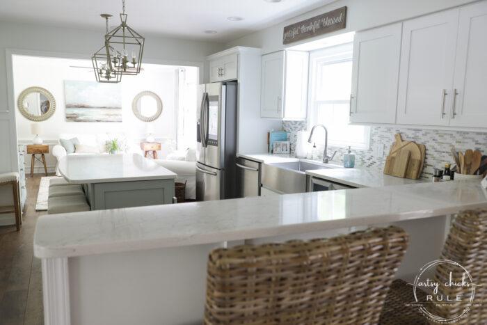 Coastal kitchen artsychicksrule.com