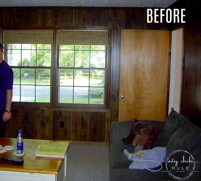 before living room dark walls artsychicksrule.com