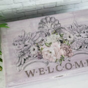 Guest Room Welcome Box ($6 thrifty makeover)