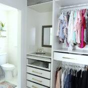 """Custom"" Master Closet Reveal (IKEA PAX Closet System)"