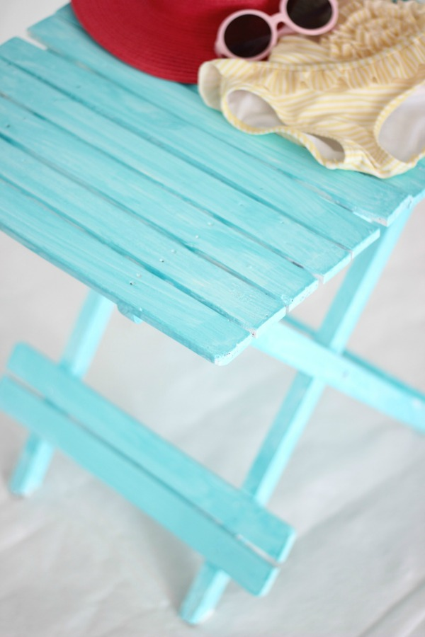 beachy aqua outdoor furniture