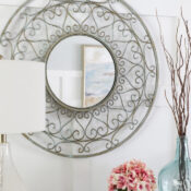 Metal Mirror Makeover (simple method!)