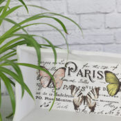 Butterfly Box (thrifty makeover)