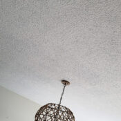 Beach Condo Update (and how to remove popcorn ceilings)