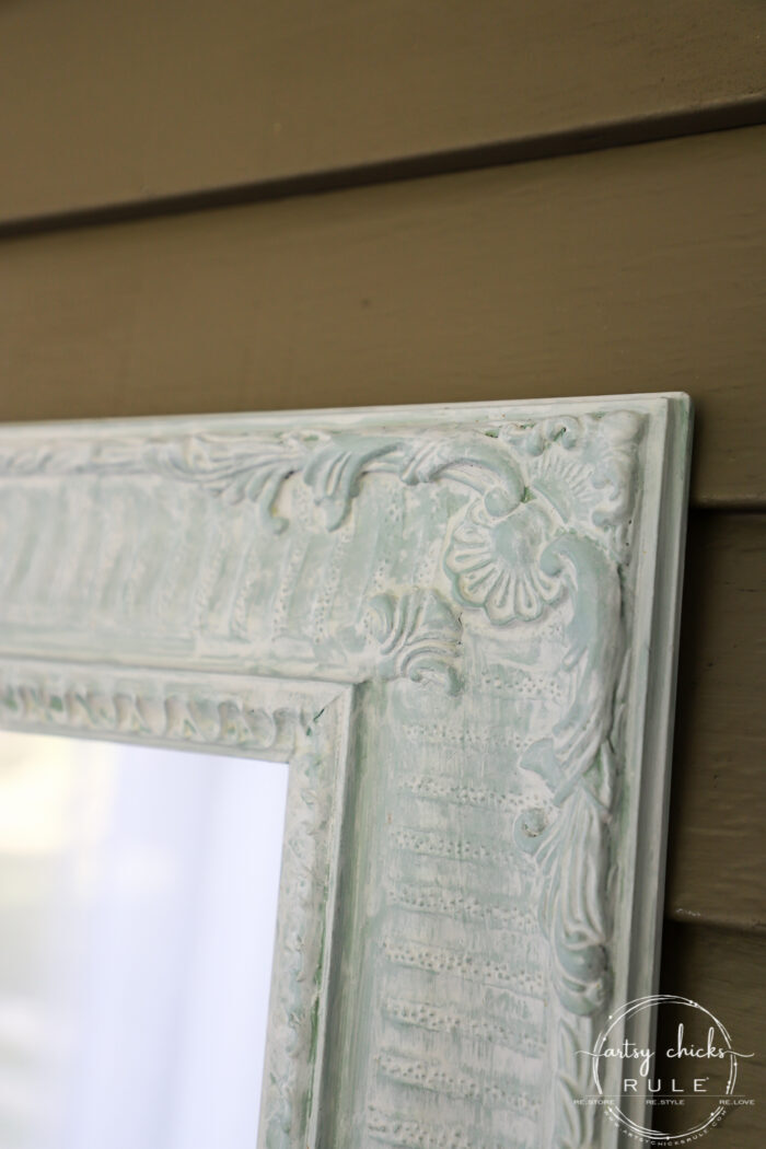 Whitewashing painted wood is so simple and takes your project to the next level! artsychicksrule.com #whitewashing #whitewashed