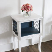 Fusion Seaside & Picket Fence Side Table